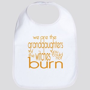 Granddaughters Cotton Baby Bib